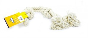Игрушка для собак Белый канат 65 см