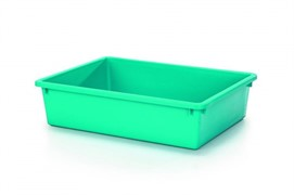 I.P.T.S. 400451/400452 Туалет д/кошек с бортиком голубой 40*30*10см