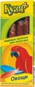 Палочки для попугаев Овощи, 4шт.