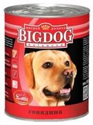 Зоогурман консервы д/собак Big Dog Говядина 850г