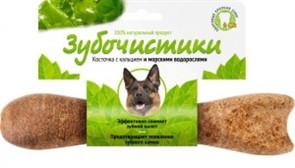 Зубочистики для собак крупных пород со вкусом морских водорослей