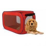 Переносной домик для собак средних пород 81*49,5*49.5 см, полиэстер