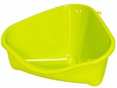 Moderna Туалет для грызунов pet's corner угловой средний, 35х24х18, салатовый