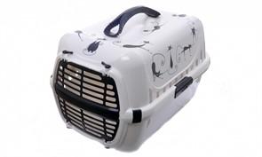 Moderna Переноска Trendy Силуэт кота с пластиковой дверцей, 31х51х34