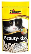Gimpet Джимпет Beauty-Kiss Витамины д/кошек для улучшения шерсти 65шт