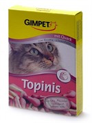 Gimpet Джимпет  Витамины д/кошек Мышки с Творогом и Таурином 190шт