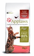 APPLAWS Беззерновой для Кошек Курица и Лосось/Овощи: 80/20% (Dry Cat Chicken & Salmon)