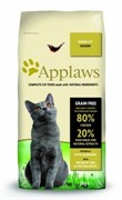 APPLAWS Беззерновой для Пожилых кошек Курица/Овощи: 80/20% (Dry Cat  Senior)