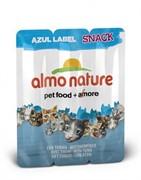 Almo-Nature Колбаски для кошек Тунец, 3шт. (Azul Label Snack Cat Tuna)