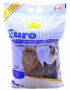 EUROLITTER Комкующийся наполнитель Контроль запаха, без пыли (Dust Free) аромат детской присыпки