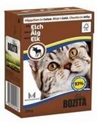 BOZITA Кусочки в желе для кошек c лосем, Bozita in Jelly with Elk