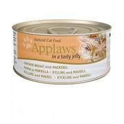 APPLAWS Кусочки в желе для Кошек с Курицей и Скумбрией ( Jelly Chicken & Mackerel) 1035CE-A