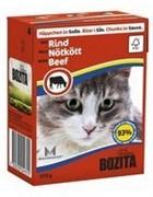 BOZITA Кусочки в соусе для кошек с говядиной, Bozita in Sauce with Beef
