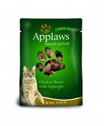 APPLAWS Паучи для Кошек С Курицей и Спаржей (Cat Chicken & Asparagus pouch)