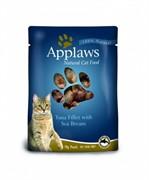 APPLAWS Паучи для Кошек с Тунцом и Морским окунем (Cat Tuna & Seabream pouch)