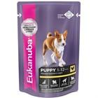 Акция 18+6 на влажные рационы для собак Eukanuba