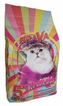 Наполнитель Brava (Брава) Для Длинношерстных Кошек  Мадам Кошкина - фото 11990