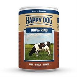 HAPPY DOG консервы д/с мясо говядины 400г - фото 12146