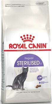 Royal Canin сухой корм для кастрированных кошек и котов: 1 7 лет, Sterilized 37 (10 кг) - фото 12487
