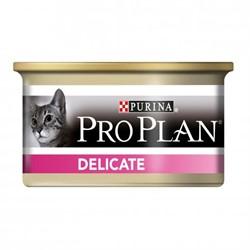 Pro Plan Delicate Sensitive мусс для чувствительных кошек (с индейкой) (0,085 кг) - фото 13073