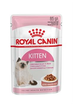 ROYAL CANIN Кусочки в соусе для котят: 4-12 мес., Kitten Instinctive (0,085 кг) - фото 13192