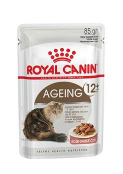 ROYAL CANIN Кусочки в соусе для кошек старше 12 лет, Ageing+12 (0,085 кг) - фото 13203