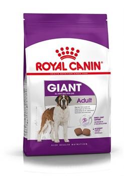 Royal Canin сухой корм  Giant Adult (джайнт Эдалт)  для взрослых собак очень крупных размеров (15 кг) - фото 14599