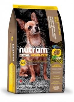 Nutram T28 Salmon Trout Dog  сухой корм для собак мелких пород беззерновой лосось форель (6,8 кг) - фото 16133