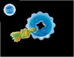 """Petstages игрушка для собак Mini """"ОРКА кольцо с канатом"""" диаметр 8 см маленькая - фото 16460"""