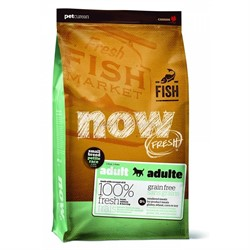 NOW NATURAL HOLISTIC Беззерновой для Взрослых собак Малых пород с Форелью, Лососем и овощами (Fresh Small Breed Recipe Fish Grain Free 26/16)  11,35 кг - фото 17696