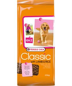 Classic (Versele-Laga) Для собак с ягненком и рисом (With lamb & Rice)  - фото 20171