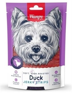 Wanpy Dog утиная соломка 100 г - фото 20585