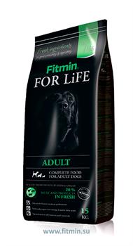 Fitmin dog For Life Adult корм д/с всех пород (15 кг) - фото 21109