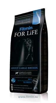Fitmin dog For Life large breeds (15 кг) - фото 21113