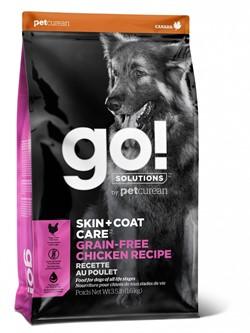 GO! беззерновой для собак всех возрастов с цельной курицей, GO! SKIN + COAT - фото 21239