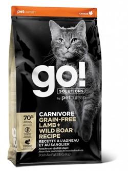 GO! беззерновой корм для котят и кошек, с ягненком и мясом дикого кабана, GO! CARNIVORE GF Lamb + Wild Boar (7,26 кг) - фото 21280