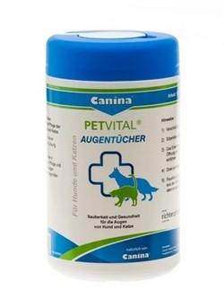 Canina Petvital Augentucher (Влажные салфетки для глаз) - фото 23196