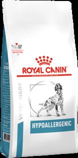 ROYAL CANIN ветеринарный для собак с пищевой аллергией, Hypoallergenic DR 21 (14 кг) - фото 23830