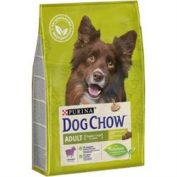 DOG CHOW Для взрослых собак с ягненком, Adult (14 кг) - фото 23879