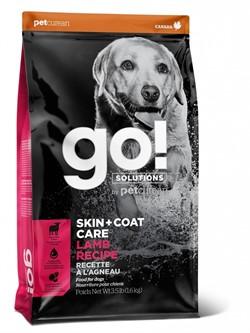 Go! Solutions Skin + Coat - Сухой корм для собак для здоровья кожи и шерсти, ягненок 11,3 кг - фото 24259