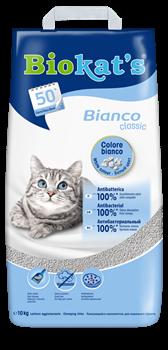 BIOKAT'S  BIANCO наполнитель комкующийся белый  - фото 25097