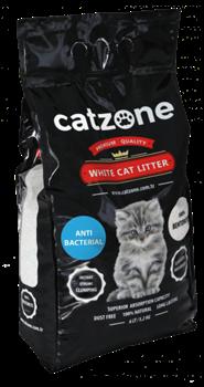 Наполнитель Catzone Antibacterial (Антибактериальный) пакет - 10кг - фото 25144