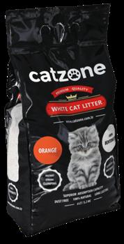 Наполнитель Catzone Orange (Цитрус) - 5,2 кг - фото 25155