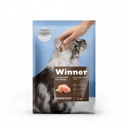 WINNER сухой корм  д/стерилизованных кошек,курица - фото 25451