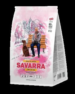 Саварра Adult All Breeds Lamb with Rice сух.д/собак Ягненок/рис  3 кг - фото 25957