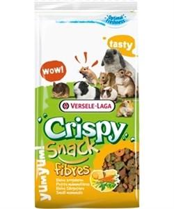VERSELE-LAGA дополнительный корм для грызунов с клетчаткой Crispy Snack Fibres 650 г - фото 26272