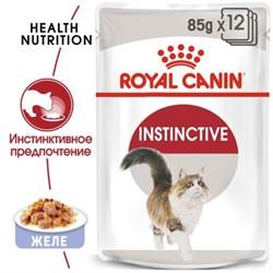 ROYAL CANIN Кусочки в желе для кошек 1-10 лет, Instinctive in Jelly - фото 26743