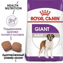 Royal Canin сухой корм  Giant Adult (джайнт Эдалт)  для взрослых собак очень крупных размеров (15 кг) - фото 26765