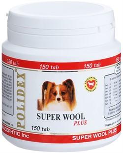 POLIDEX д/собак Супер Вул плюс 150 тб. - фото 26877
