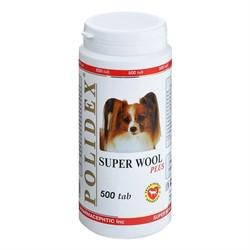 POLIDEX д/собак Супер Вул плюс 500 тб. - фото 26878